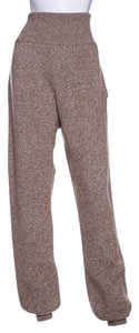 Chloé Chloe Camel Knit Sweater Jogging Pants