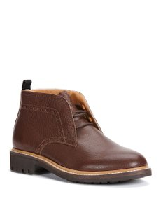 Calvin Klein Leather Mens Dark Brown Boots