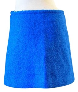 Prada Mini Skirt blue