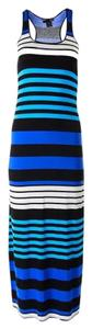 Multi-Color Maxi Dress by Aqua Maxi Striped