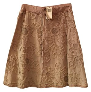 Max Studio Skirt Tan