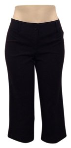 Wrapper Capris Black