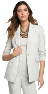 St. John Jacket Single Button Celadon Celadon Green Blazer