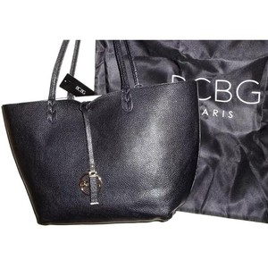 BCBG Paris Tote in Black and Off-White