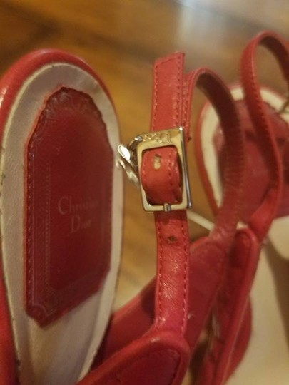 Dior red Mules Image 3