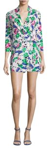 Diane von Furstenberg Cotton Silk Mini Dress