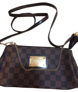 Louis Vuitton Brown Clutch