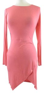 Nasty Gal short dress Salmon Sexy Short Comfortable Soft on Tradesy