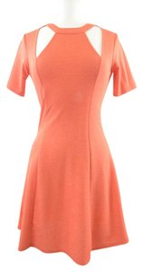 Silence + Noise short dress Red Orange on Tradesy
