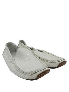Ralph Lauren Loafers Moccasins White Flats