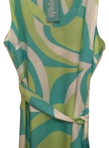 Escapada Living short dress Aqua and green on Tradesy