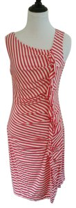 Mercer and Madison short dress Red and White on Tradesy