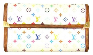 Louis Vuitton Monogram Mini Canvas Leather International Long Clutch Wallet France