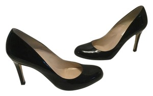 L.K. Bennett Stiletto Heels Black patent all leather stilettos E36.5 Pumps