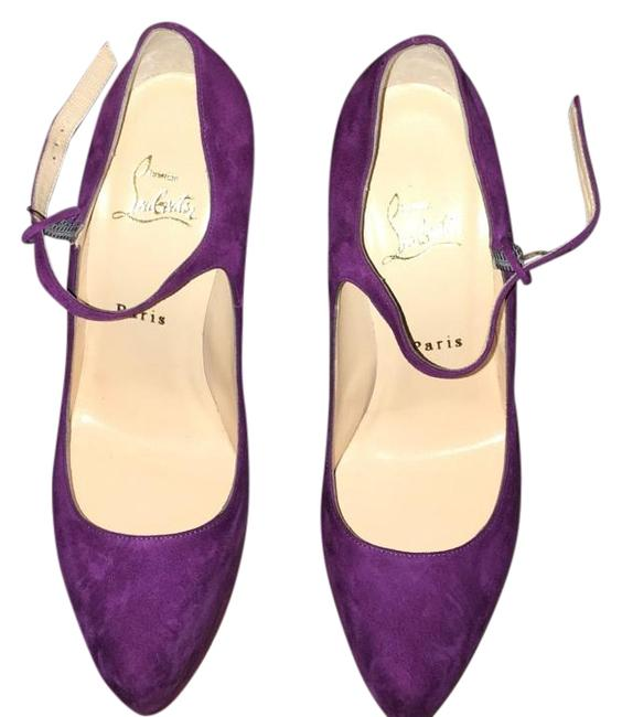Item - Royal Purple Platforms Size US 8 Narrow (Aa, N)