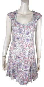 Pins and Needles Urban Outfitters Lace Up Dress