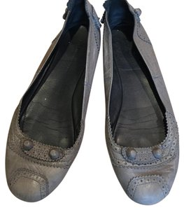 Balenciaga Grey leather Flats