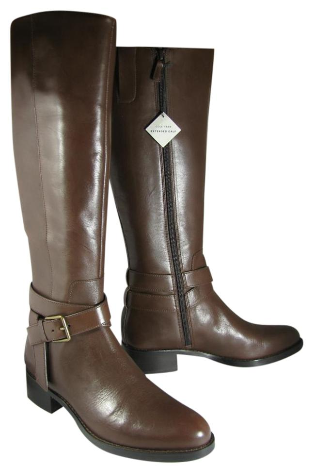 Cole Cole Cole Haan Brown New Briarcliff Extended Knee-high Boots/Booties 04f53d