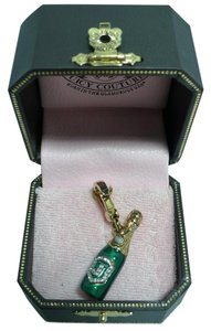 Juicy Couture JUICY COUTURE Champagne Bottle Charm 2007 Retired RARE