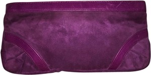 Lauren Merkin Purple orchid Clutch