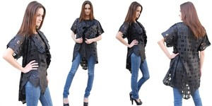 Elizabeth Michaels Designs Top Black