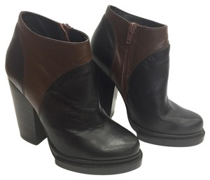 Jeffrey Campbell Black Brown Boots