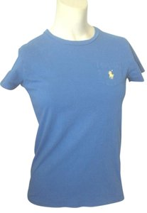Ralph Lauren Sport Polo Logo Sleeve Small T Shirt Blue