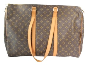 Louis Vuitton Leather Sac Flanerie 50 Gm Logo Lv Weekend Travel Gym Carry On Monogram Travel Bag