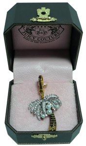 Juicy Couture JUICY COUTURE Pave Palm Tree Pearl Coconuts Charm Retired