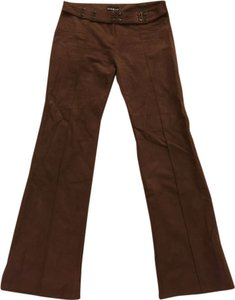 bebe Flare Pants Brown