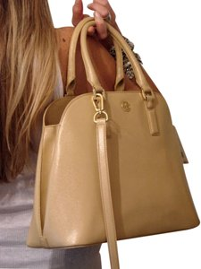 Tory Burch Satchel in Toasted Wheat