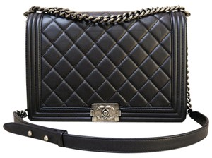 Chanel Quilted Boy Shoulder Bag