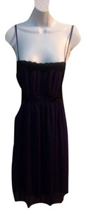 Coco and Chase short dress purple/black on Tradesy