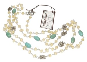 Stephen Dweck Stephen Dweck Citrine Turquoise Labradorite Long Station Necklace