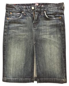 7 For All Mankind Skirt Denim blue