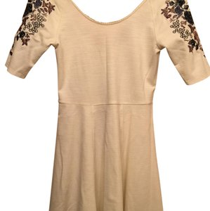 Free People short dress Ivory Fit And Flare on Tradesy