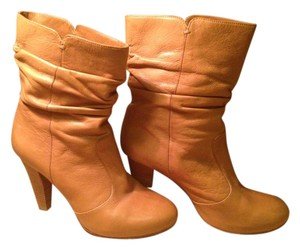 Via Spiga Leather Boot Bootie Tan Boots