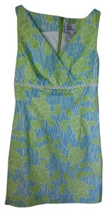Lilly Pulitzer short dress Blue & green 2 on Tradesy