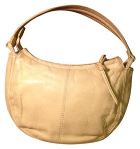 DKNY Leather Yellow Shoulder Bag