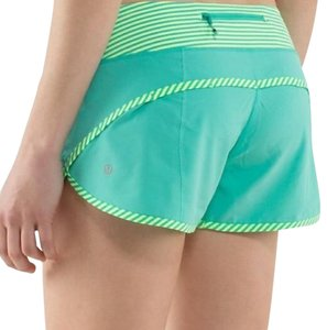 Lululemon Lululemon Speed Shorts Bali Breeze Size 4
