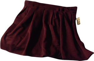 American Eagle Outfitters Skirt Burgundy