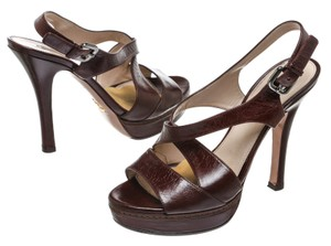 Prada Brown Sandals