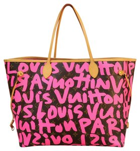 Louis Vuitton Grafitti Pink Shoulder Bag