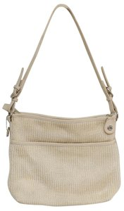 The Sak Crochet Woven Knit Monogram S Bottom Shoulder Bag
