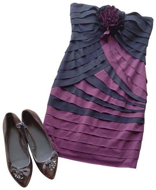 Preload https://img-static.tradesy.com/item/196657/arden-b-purple-and-grayish-navy-cocktail-dress-size-4-s-0-0-650-650.jpg