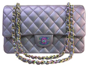 Chanel Cf Brand New Metallic Medium Shoulder Bag