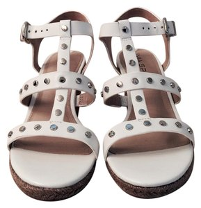 Via Spiga White white, natural Wedges