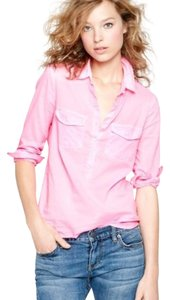 J.Crew Button Down Shirt Pink (see actual photo)
