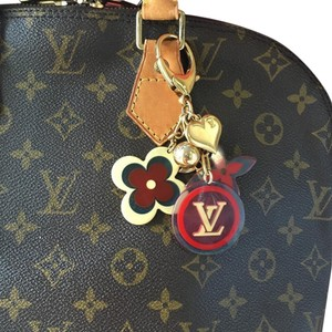 Louis Vuitton Louis Vuitton Plastic and Gold Charms Key Chain, Purse Charms 2982