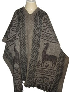 Peruvian Wool Cape Poncho Cape
